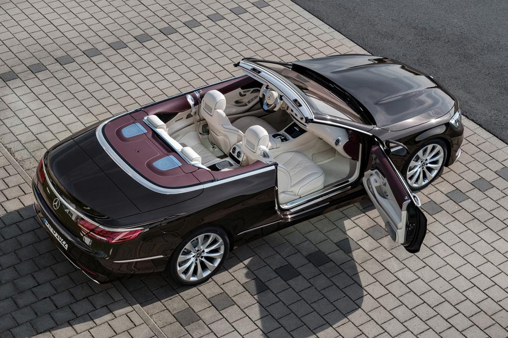 Обновленный Mercedes S Cabriolet 2018