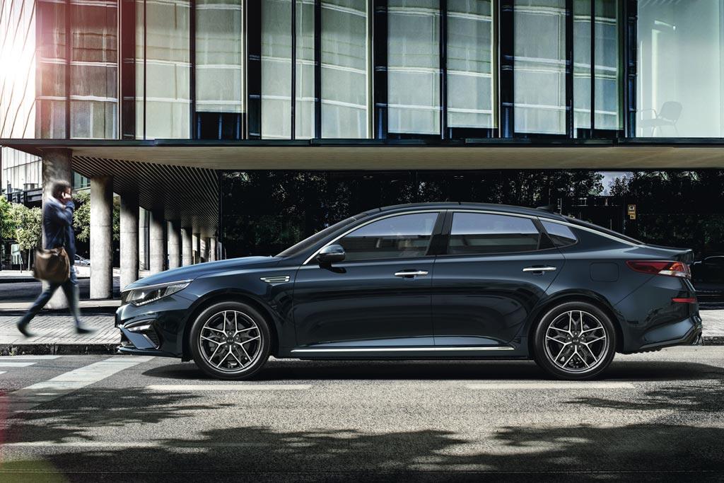 Kia Optima 2019 в новом кузове