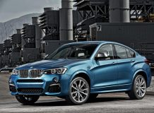 Фото нового BMW X4 M40i
