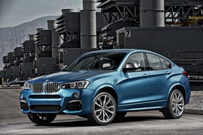 BMW X4 обзавелся топовой модификацией M40i