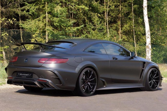 S63 AMG Coupe Black Edition от Mansory