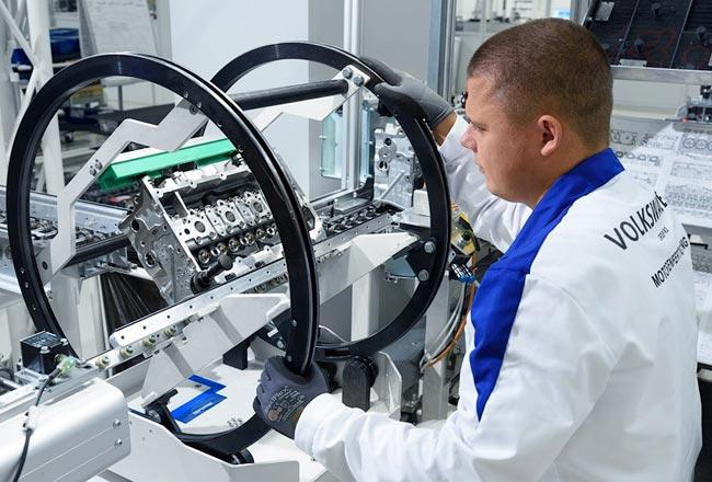 Volkswagen запустил выпуск двигателей в России