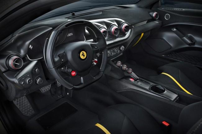 Салон Ferrari F12tdf