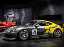 Porsche Cayman GT4 Clubsport фото