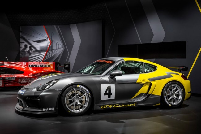 Трековое купе Porsche Cayman GT4 Clubsport