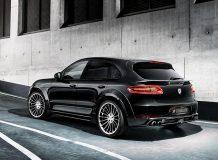 Фото тюнинг Porsche Macan от Hamann