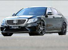 Фото тюнинг Mercedes S63 AMG от G-Power