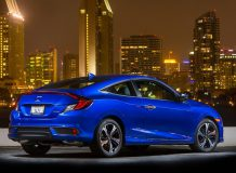 Honda Civic Coupe 2017 фото