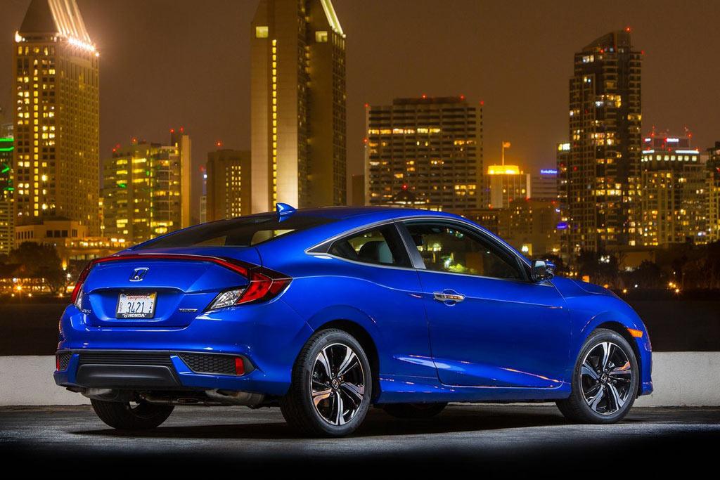 Honda Civic Coupe в новом кузове