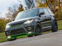 Обвес Lumma CLR SV на Range Rover Sport