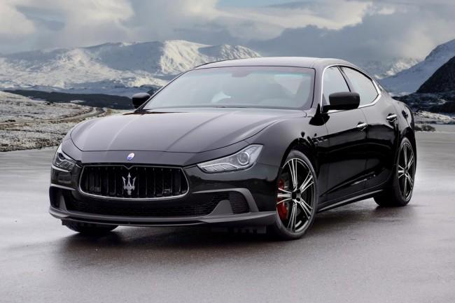 Maserati Ghibli от тюнинг ателье Mansory