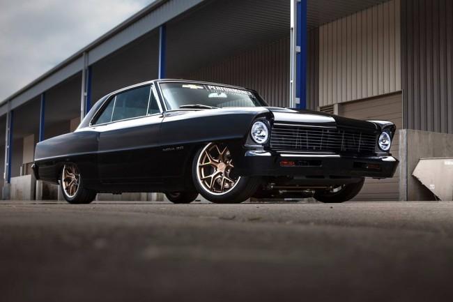 Тюнинговый Chevrolet Nova 1967