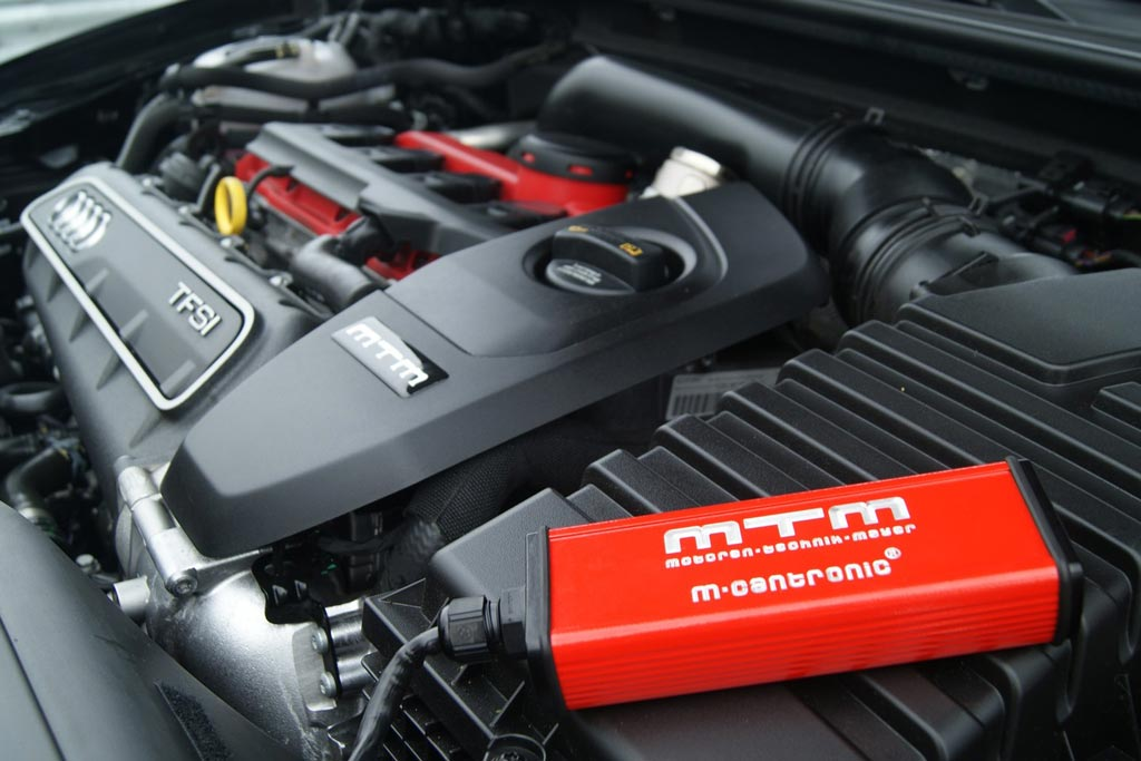 Доработка двигателя Audi RS3