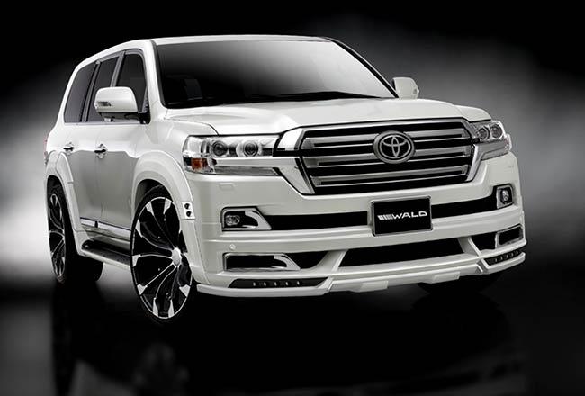 Обвес для Toyota Land Cruiser от WALD