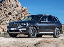 Фото нового BMW X3 2018 года