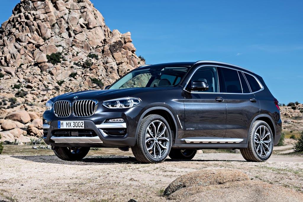 Новая BMW X3 2019 г