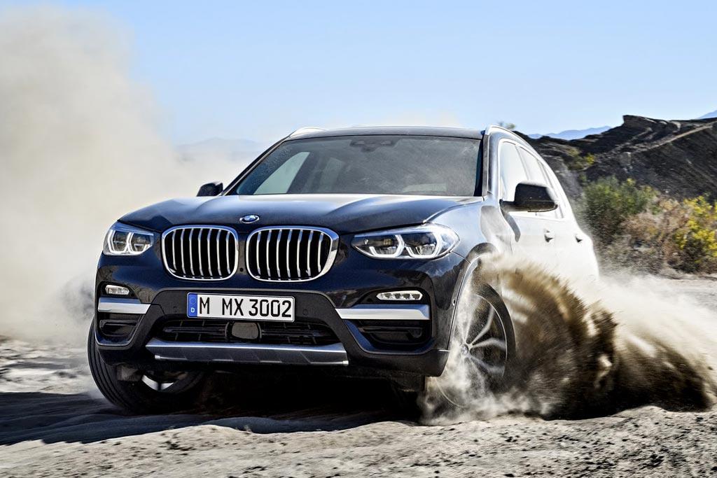 BMW X3 в новом кузове G01