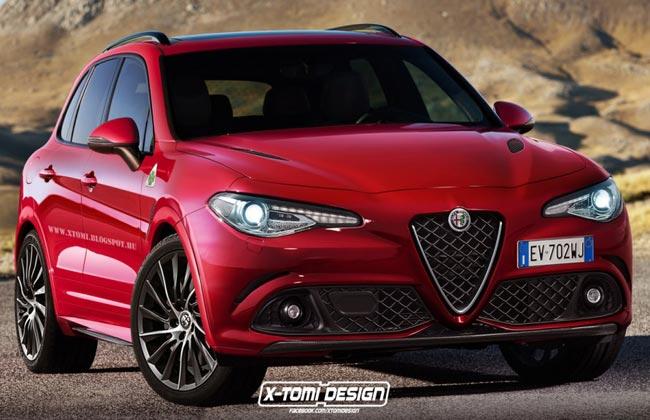 Рендер Alfa Romeo Stelvio