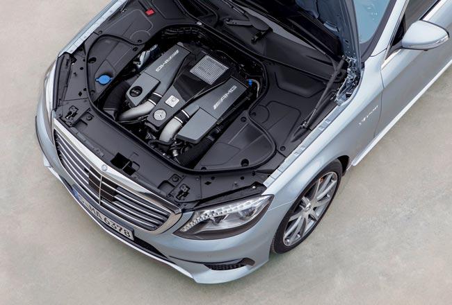 6,0-литровый движок V12 от AMG