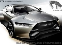 Mamba GT3 Street Concept фото