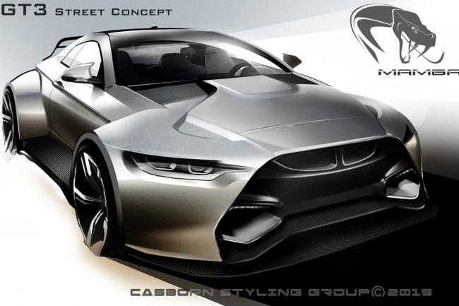 Mamba GT3 Street Concept на базе M4 Coupe