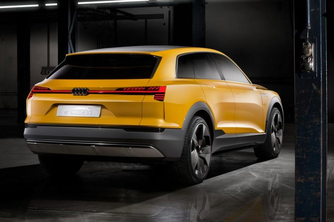 Водродный концепт Audi h-tron quattro