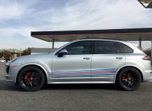 Диски Vorsteiner на Porsche Cayenne GTS фото