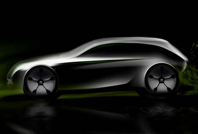 Тизер водородной модели Hyundai
