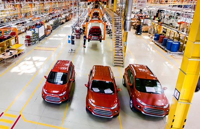 Сборка кроссоверов Ford EcoSport
