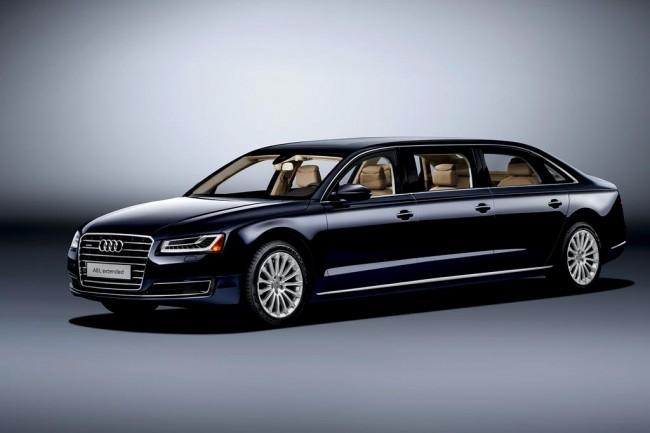 Шестидверный лимузин Audi A8 Extended