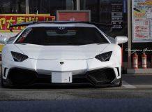 Фото тюнинг Lamborghini Aventador от Aimgain