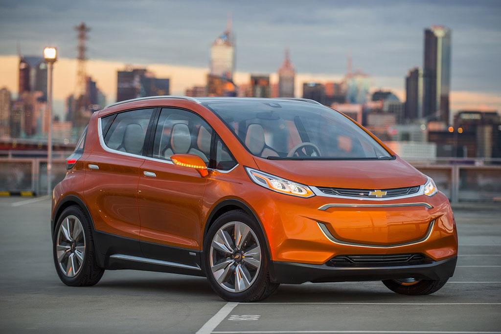 Chevrolet Bolt Concept фото