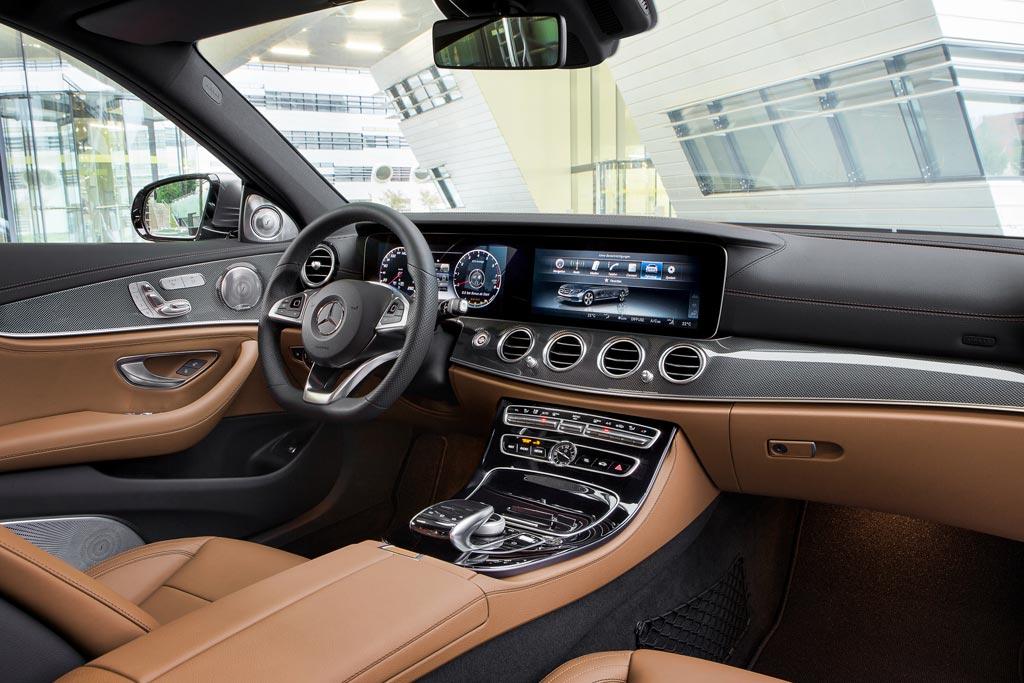Салон Mercedes E-Class W213