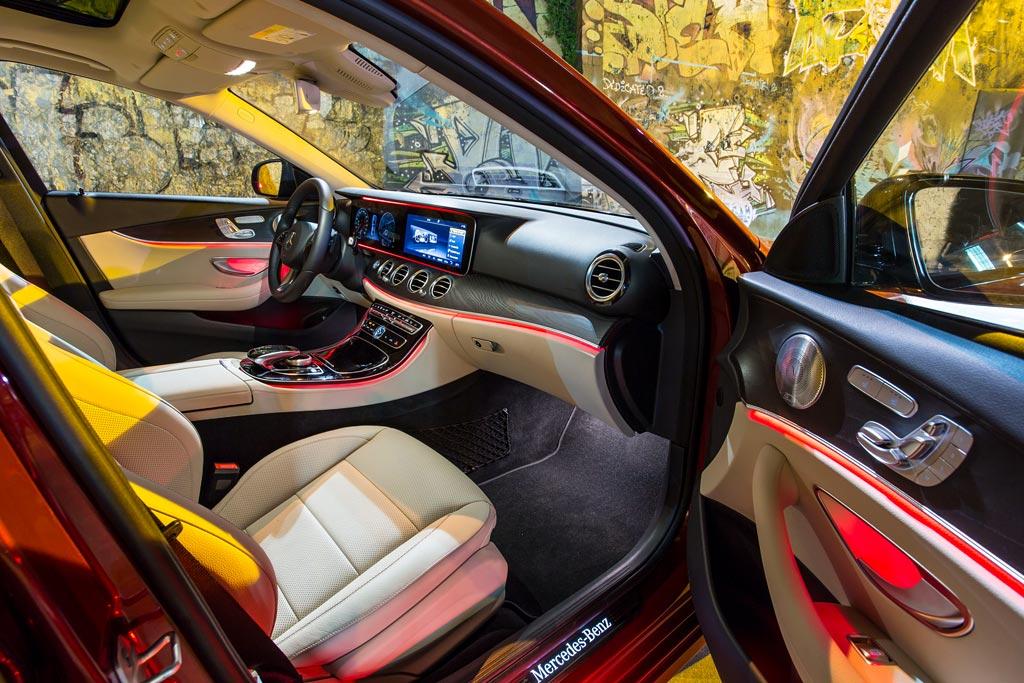 Передняя панель нового E-Class W213