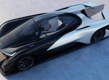 Фото электромобиля от Faraday Future
