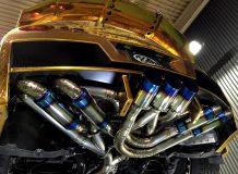 Выхлоп на Ниссан GT-R от Kuhl Racing фото
