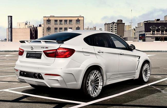 BMW X6 M50d от Hamann