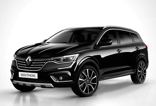Рендер Renault Maxthon