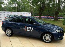 Lada Vesta EV фото
