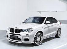 Обвес на BMW X4 от Hamann фото