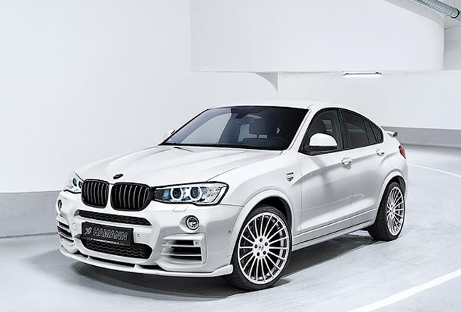 BMW X4 в обвесе от Hamann