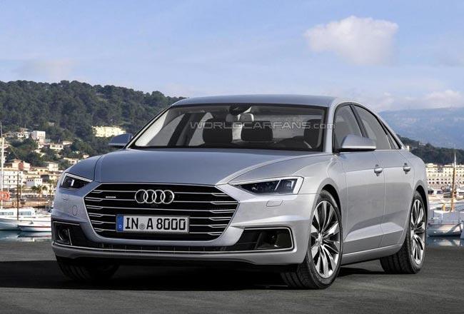 Рендер Audi A8 нового поколения