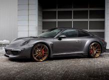 Фото тюнинг Порше 911 Carrers 4S от Топ Кар