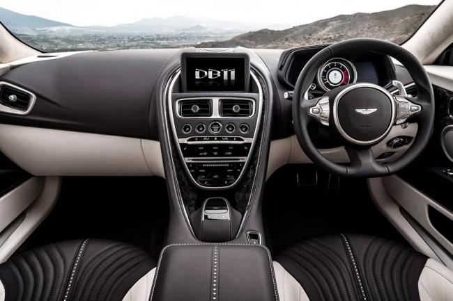 Салон Aston Martin DB11