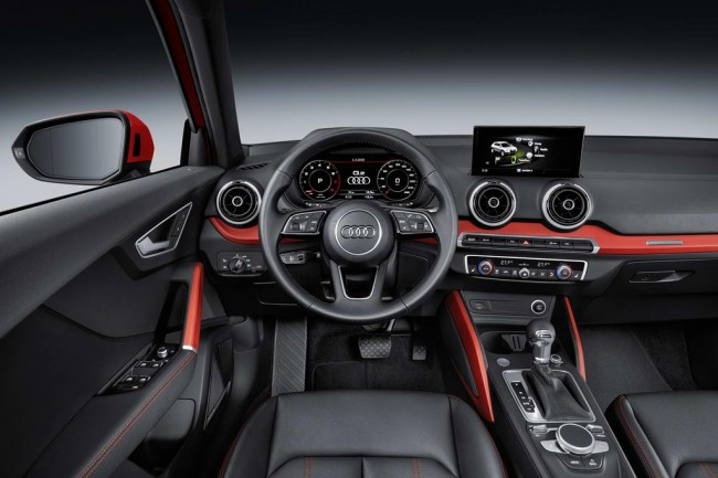 Салон автомобиля Audi Q2