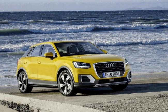Новый паркетник Audi Q2