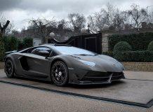 Обвес для Aventador SV от Mansory фото