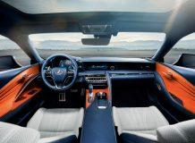 Салон Lexus LC 500h фото