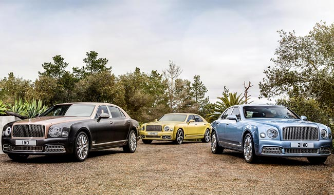 Обновленные Bentley Mulsanne 2017