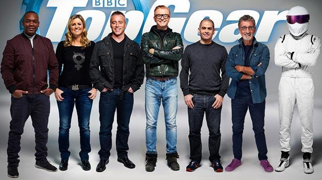 Все ведущие нового сезона Top Gear